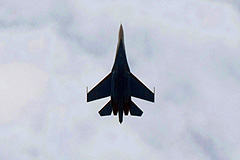 В Карелии разбился Су-27