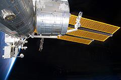 Возвращение космонавтов