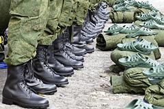 Военную полицию ждут к декабрю