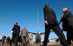 Российская авиация разбилась о визы
