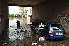 Кубань: последствия наводнения