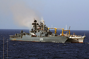 Корабли зайдут в сирийский порт