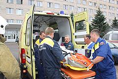 Авария на химпредприятии в Березниках