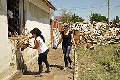 Кубань: неделя после наводнения