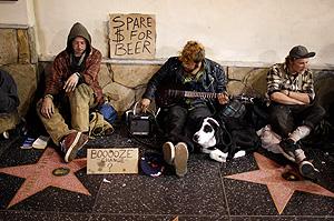 США рекордно беднеют