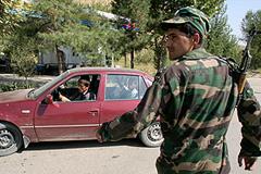 Таджикский спецназ зачищает Памир