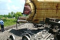 Пожар в поезде с боеприпасами