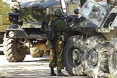 Дом с боевиками взяли штурмом
