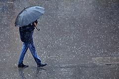 В Томске прошел первый дождь