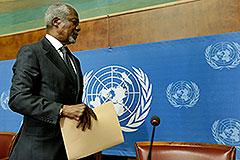Кофи Аннан покидает Сирию