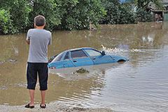В наводнении обвинили осадки