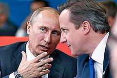 Путин заглянул на Олимпиаду