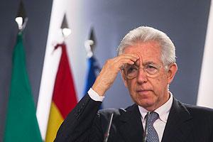Марио Монти просит спасти евро