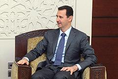 Сирийского лидера показали народу