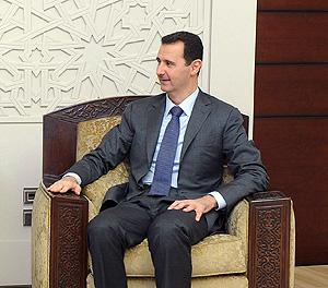 Асад появился с планом