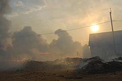 В пожаре погибли два ребенка