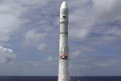 Из Тихого океана запущен спутник