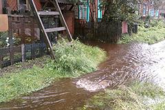 Высокая вода в Туапсе