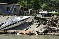 Под Туапсе наводят порядок после наводнения