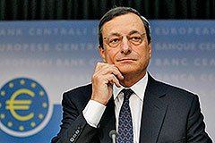Марио Драги выводит ЕЦБ на рынок