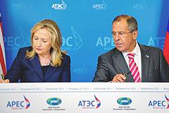 Лавров и Клинтон удачно поговорили