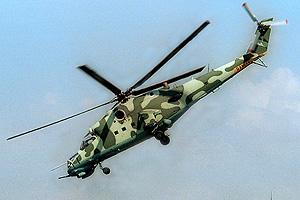 В Дагестане разбился военный вертолет