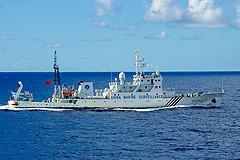 Китай патрулирует спорные острова