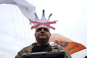 Выступления оппозиции: марш есть, миллионов нет