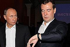 Медведеву придется разобраться со временем