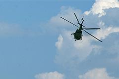 Вертолет потерпел крушение