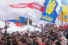 В Киеве оппозиция собралась на митинг