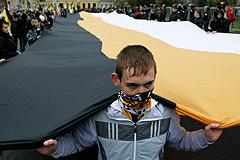 Националисты прошли по Москве