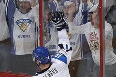 Хоккеисты уступили финнам