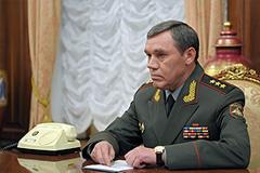 Генштаб возглавил Валерий Герасимов