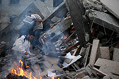 Удары по Газе продолжаются