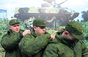 Военная форма сшита не по технологии
