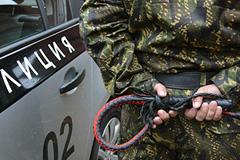 Казаки выходят патрулировать Москву