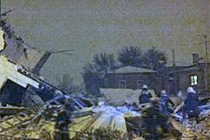 В Таганроге обрушился строящийся дом
