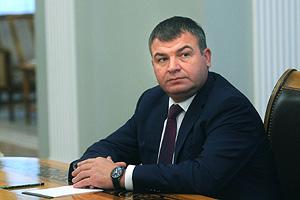 Сердюков отказался говорить