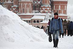 В Москве ждут сильного снегопада