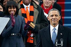 Обама принял присягу