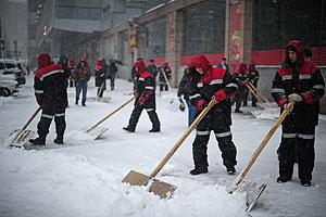 Снег побил рекорд