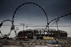 Строительство стадиона стало уголовным делом