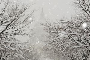 Америку накроет рекордный снегопад