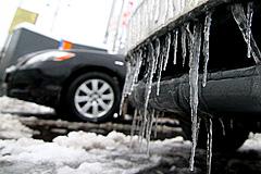 """В Москве прошел """"ледяной дождь"""""""