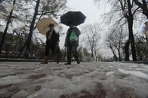 Весна уходит из Москвы