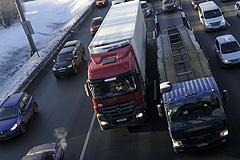За грузовиками будут следить камеры