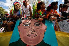 Чавес вернулся в Венесуэлу