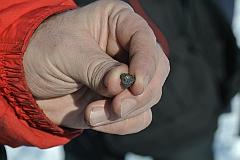 Метеорит упал в озеро