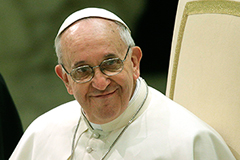 Франциск примет Киршнер первой